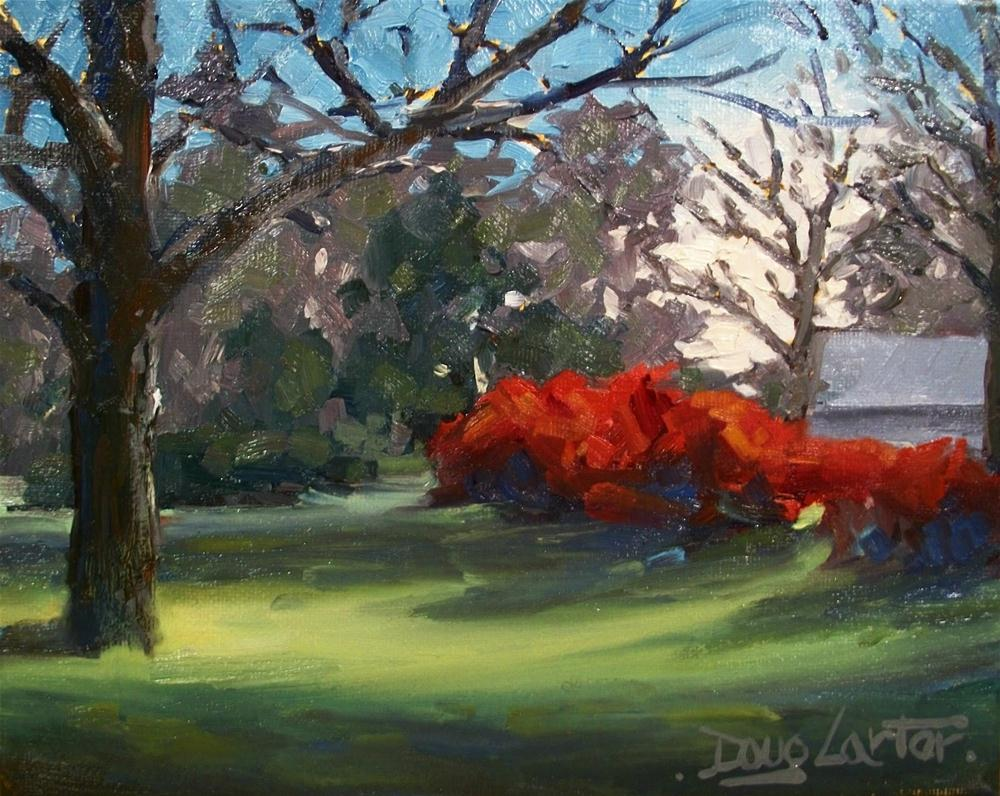 """ Morning Glow "" original fine art by Doug Carter"