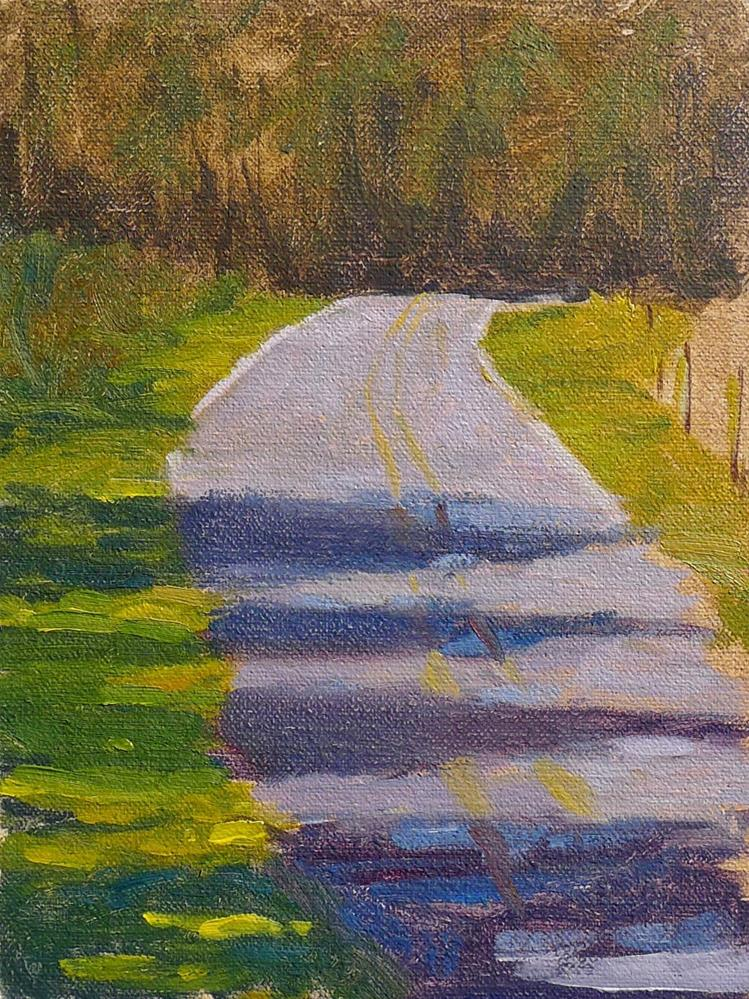 """The Road Ahead"" original fine art by Adam Houston"