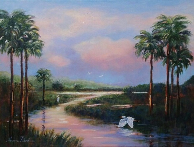 """Morning Has Broken"" original fine art by Susan Rhodes"
