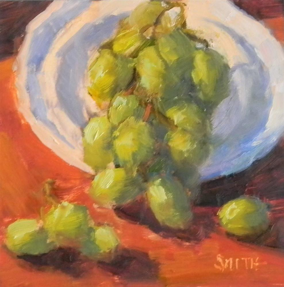 """Grapes on Display"" original fine art by Barbie Smith"