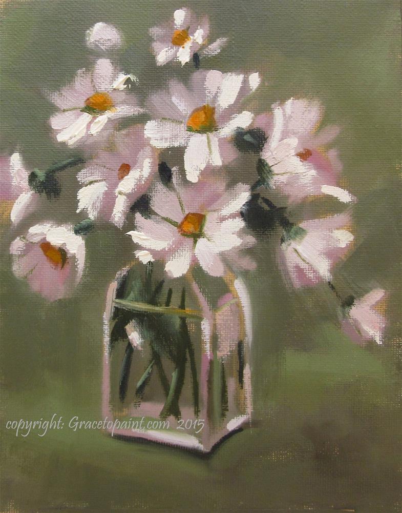 """""""Spritely Bunch"""" original fine art by Maresa Lilley"""