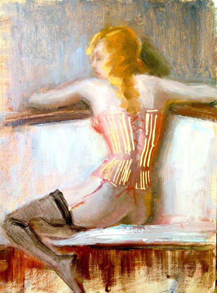 """Cirque Du Soleil"" original fine art by Johanna Spinks"