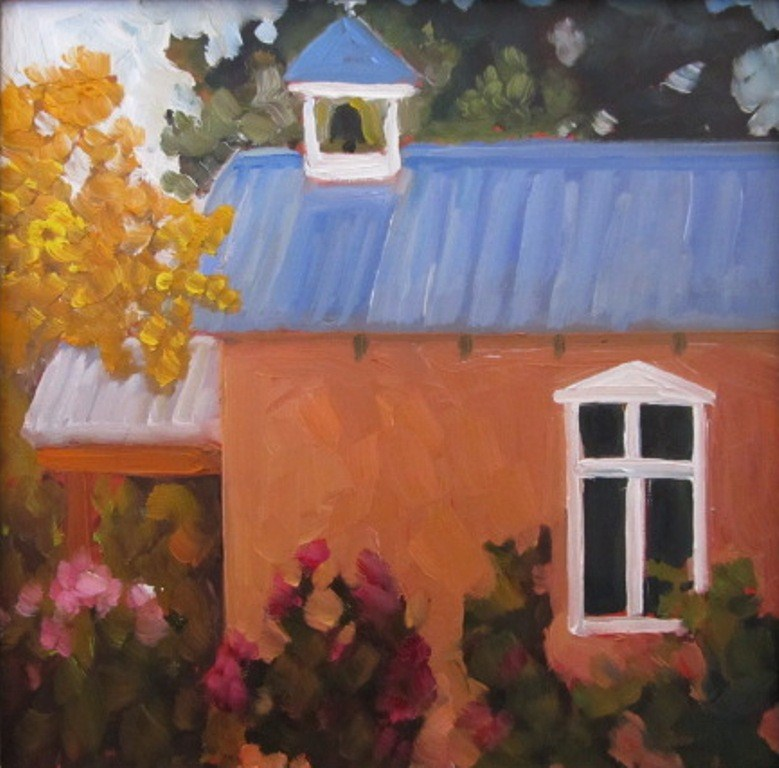 """HIDDEN CHAPEL"" original fine art by Dee Sanchez"