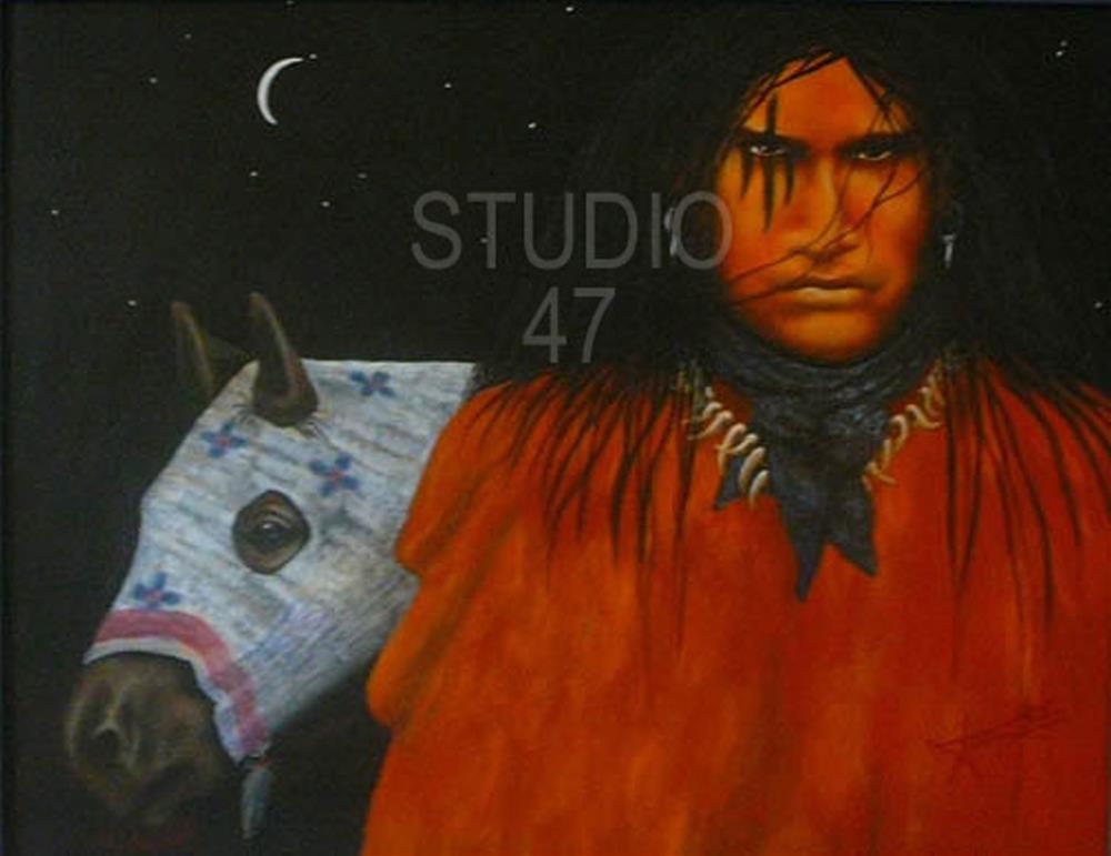 """Bruho"" original fine art by Amanda Stacey"