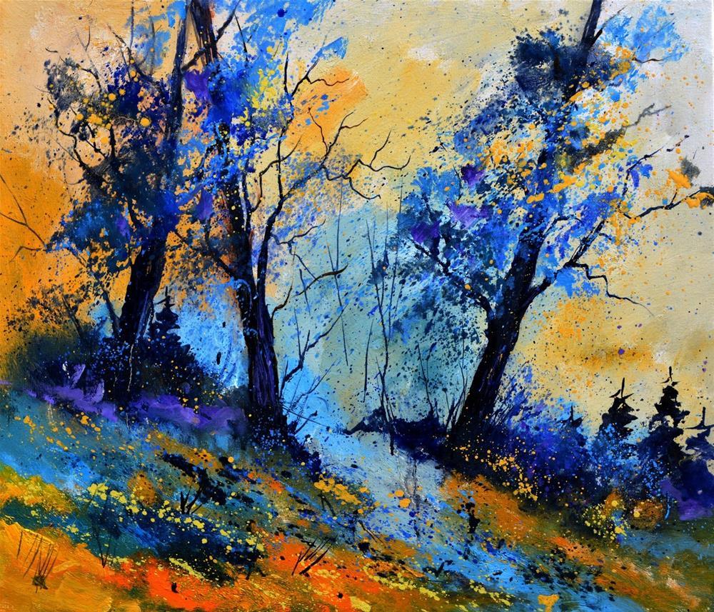"""Magic oaks"" original fine art by Pol Ledent"