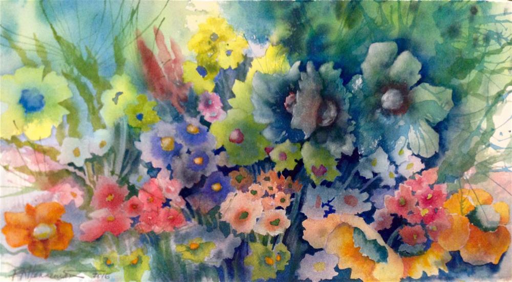 """""""Flower Profusion"""" original fine art by Eileen Hennemann"""