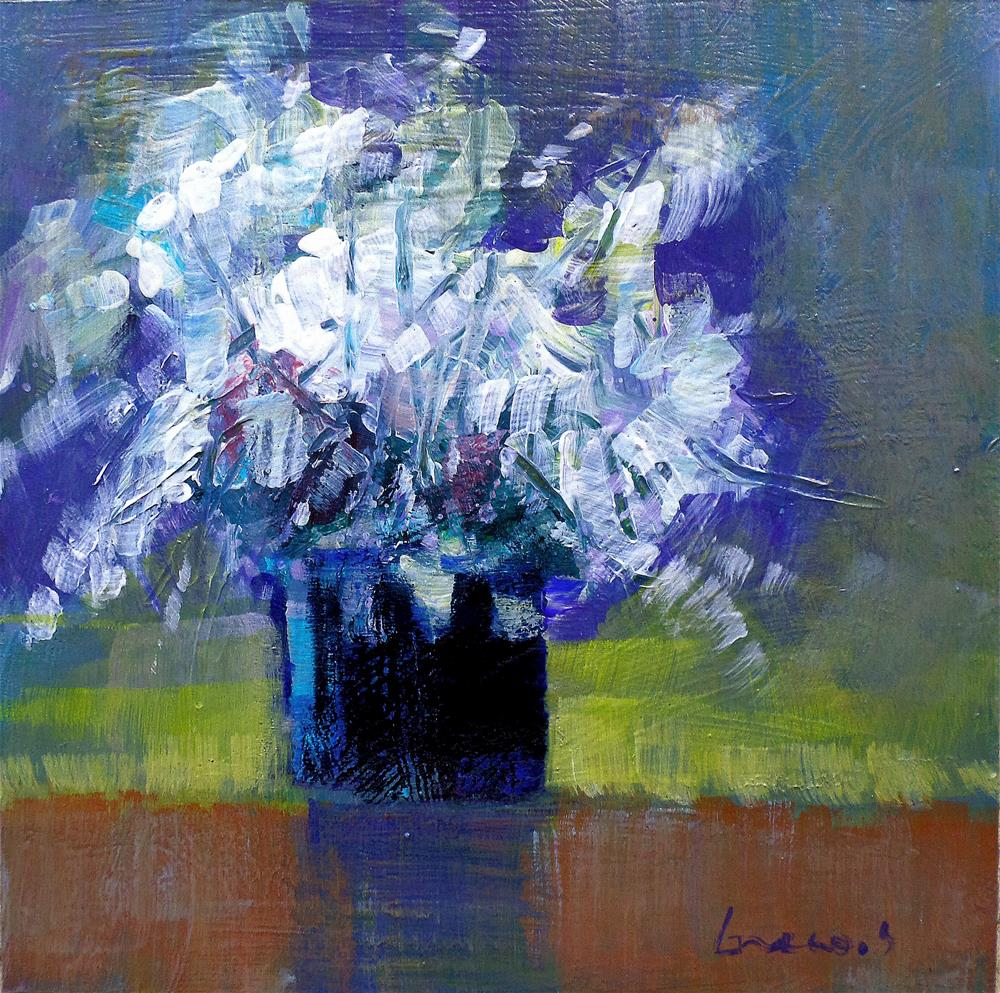 """Flowers 3"" original fine art by salvatore greco"