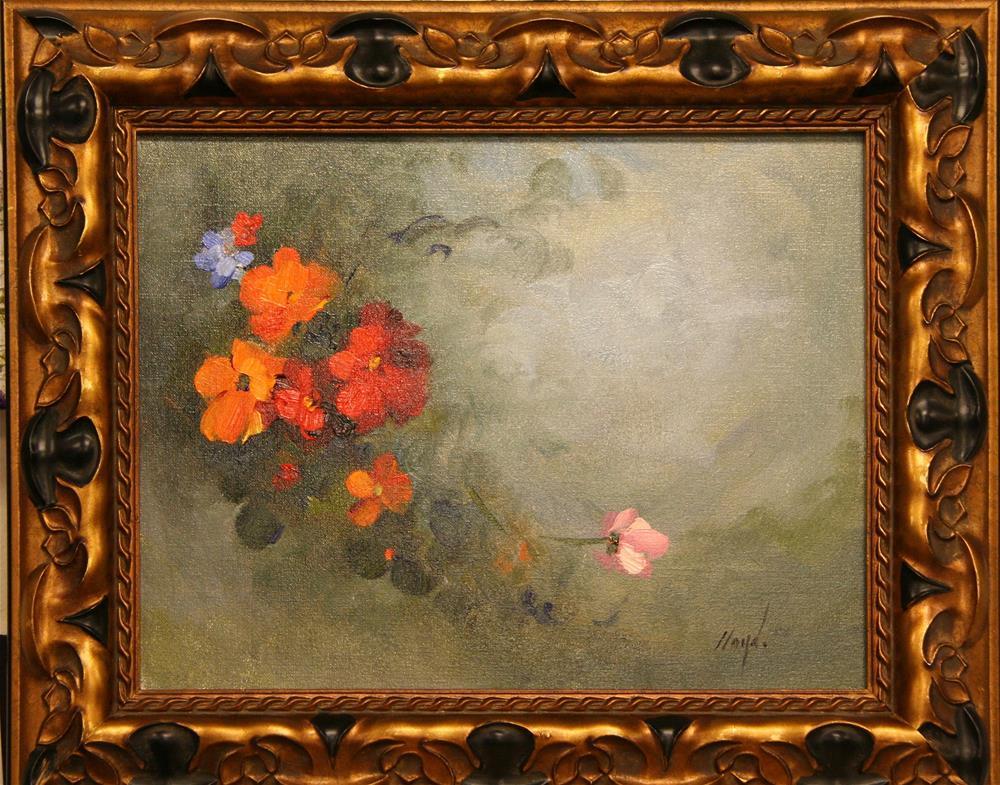 """Les Fleurs"" original fine art by Diane Lloyd"