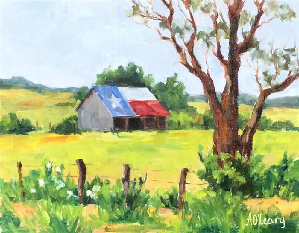 """Proudly Weathered"" original fine art by Alice O'Leary"