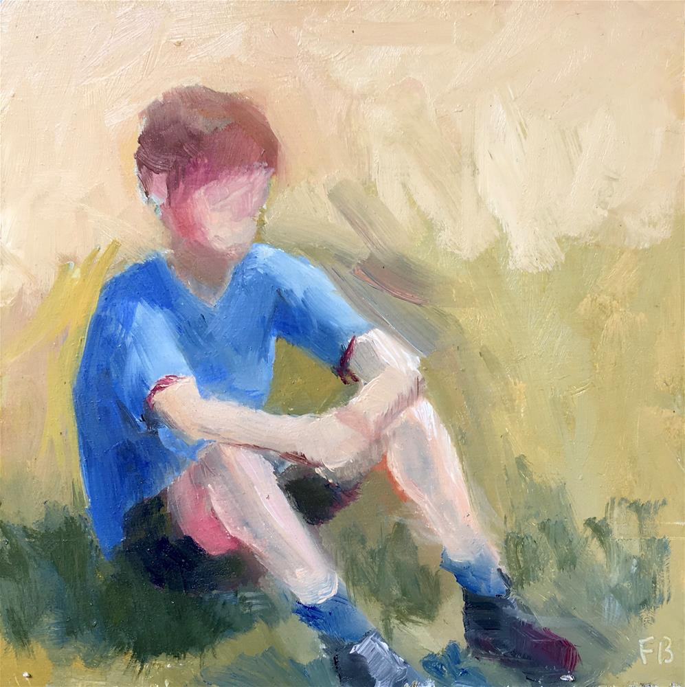 """070 Boy, Peter"" original fine art by Fred Bell"