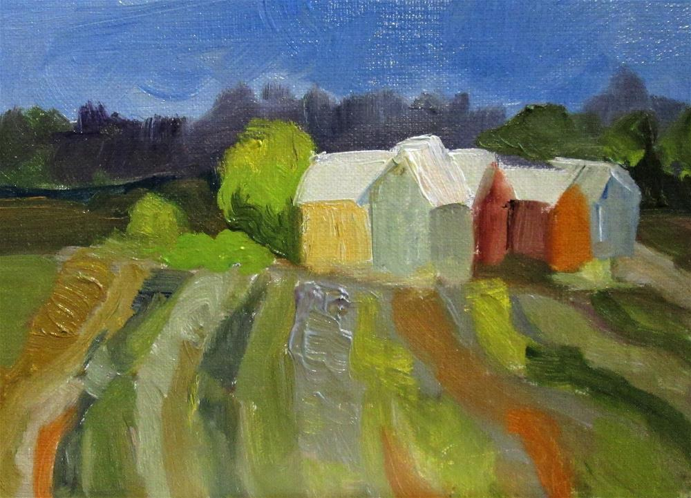 """Fields"" original fine art by Delilah Smith"