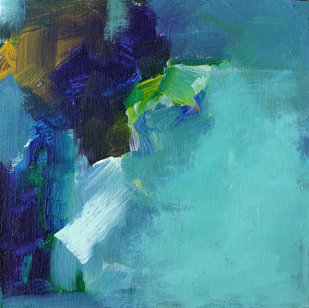 """Aqui"" original fine art by Elizabeth Chapman"
