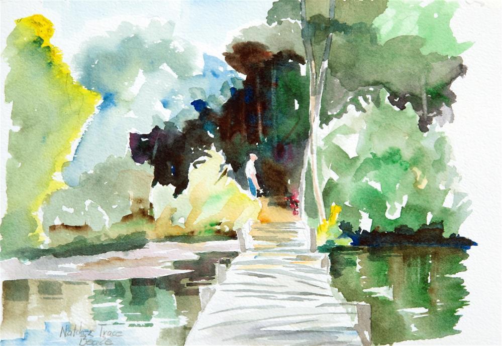 """""""Along the Natchez Trace"""" original fine art by  David Beale"""