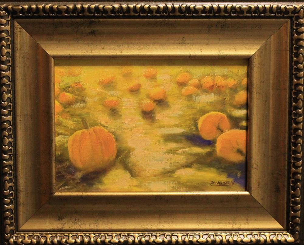 """Pumpkin patch"" original fine art by Daniel Varney"