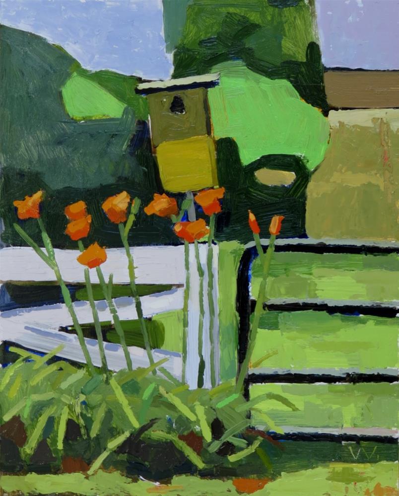 """Tiger Lillies"" original fine art by Joan Wiberg"