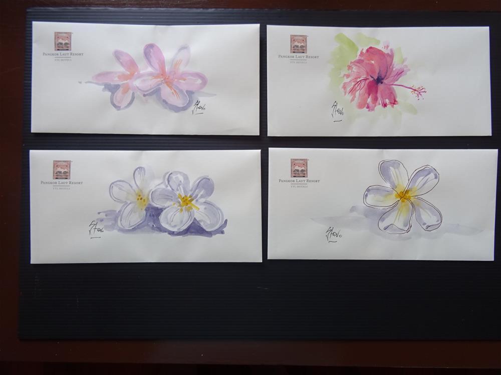 """Envelope Example"" original fine art by Martin Stephenson"