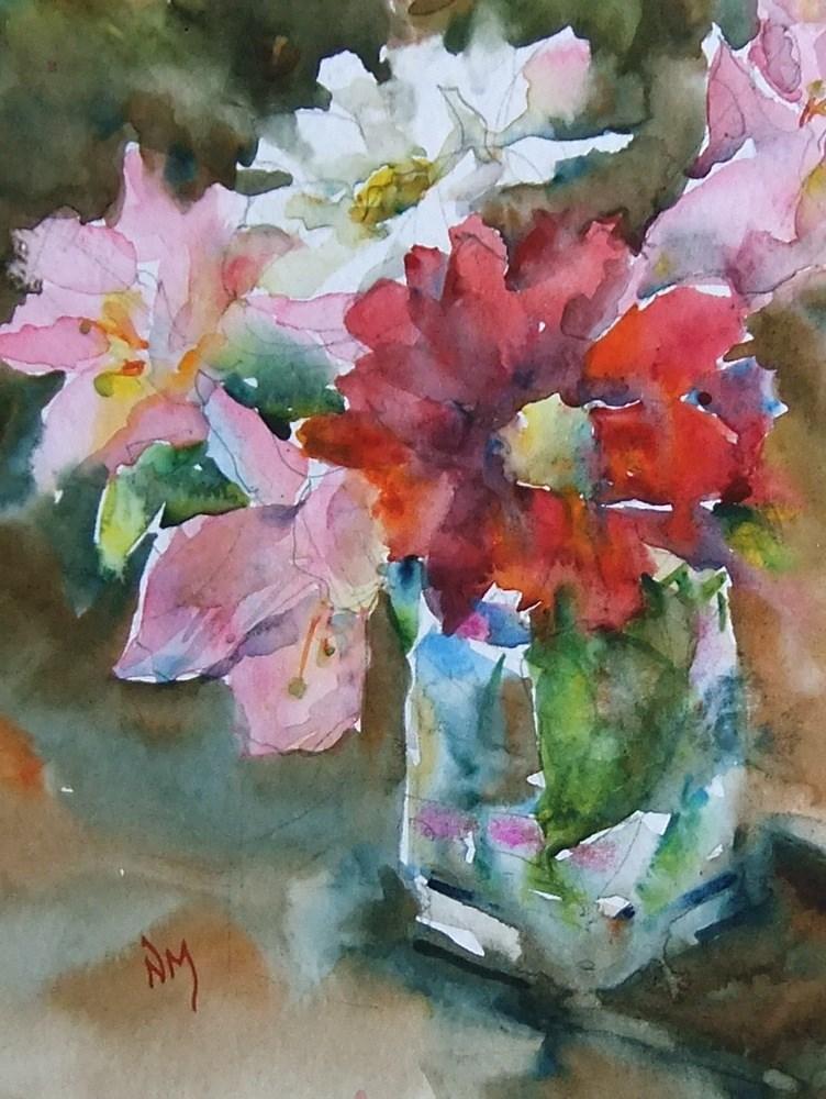 """spontaneous"" original fine art by Nora MacPhail"