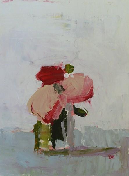 """Palette Roses"" original fine art by Pamela Munger"