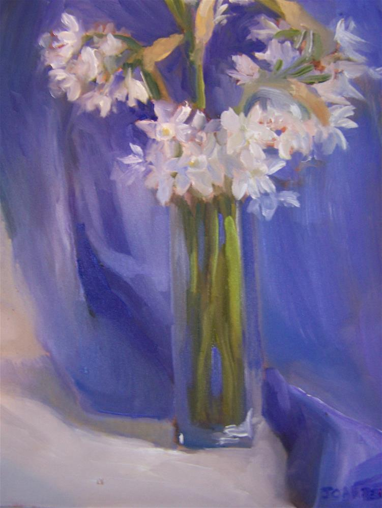 """Paper Whites"" original fine art by Joan Reive"