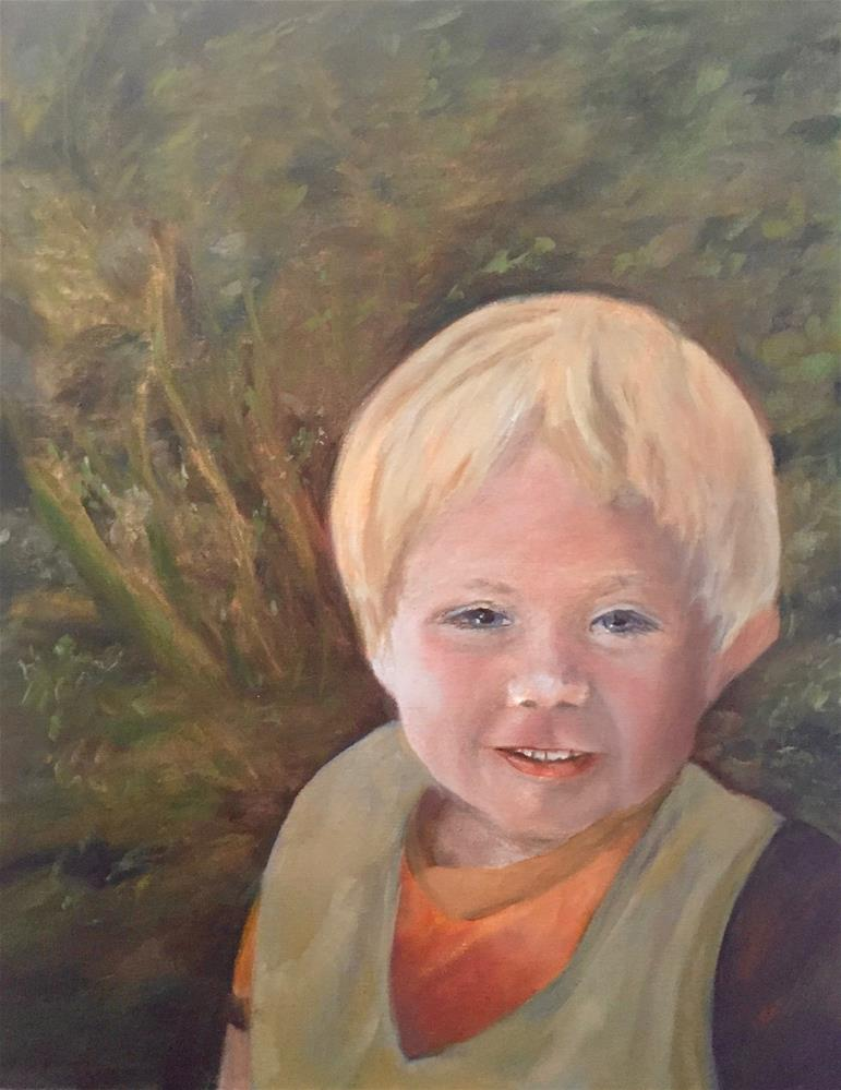 """Sam The Man"" original fine art by cheryl buhrman"