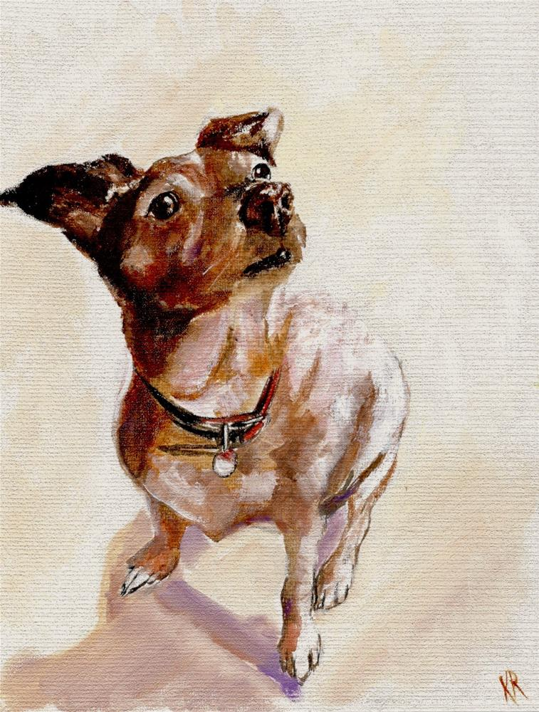 """Little Sophie"" original fine art by Karen Robinson"