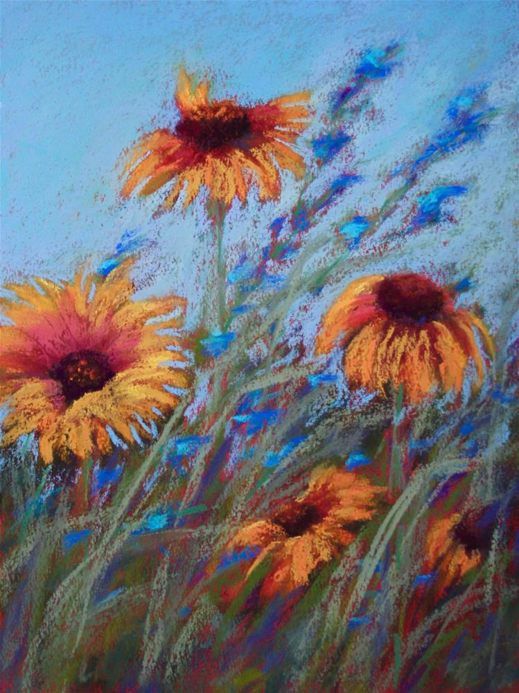 """Dancing in the Sunshine"" original fine art by Sharon Lewis"