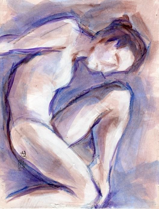 """Dance 1; the hidden language"" original fine art by Richard Huston"