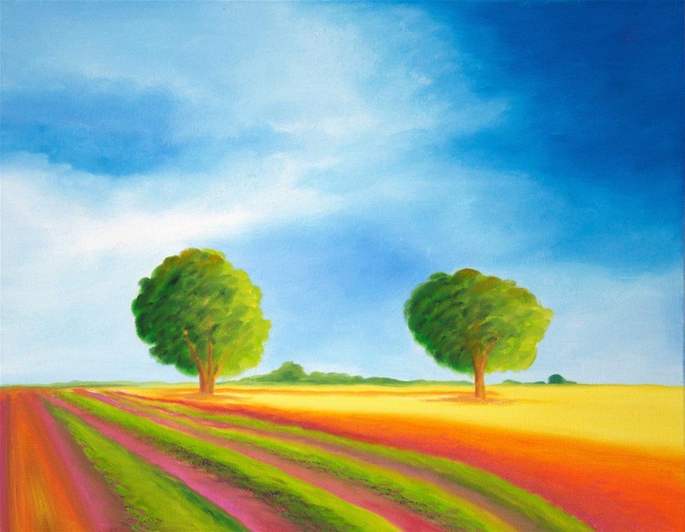 """Provence"" original fine art by Susan Bertocci"