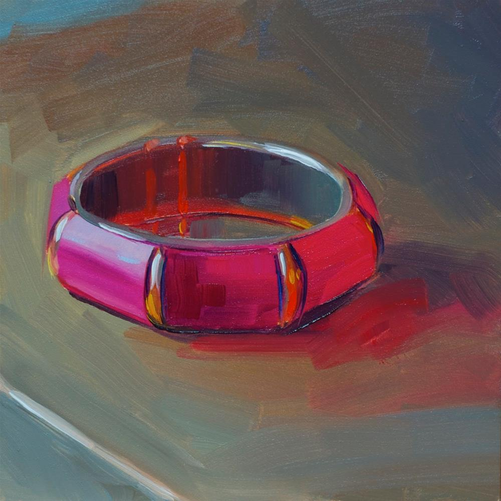 """Boho Bangle"" original fine art by Heather Bullach"