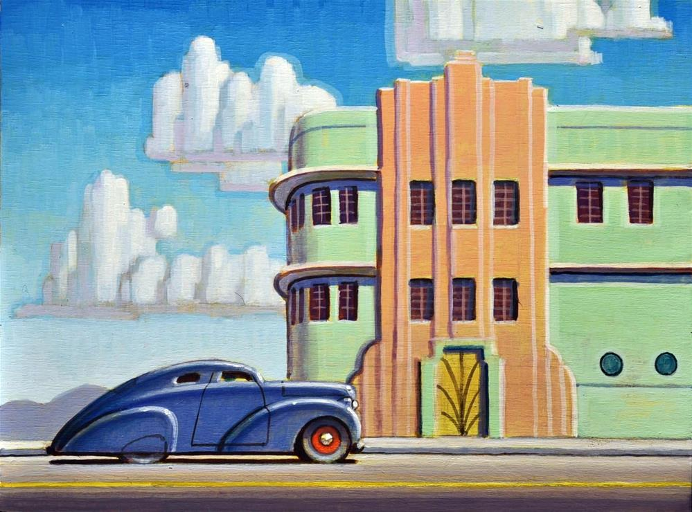 """""""Modern Times"""" original fine art by Robert LaDuke"""