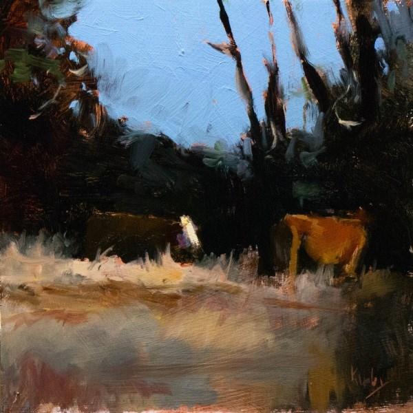 """The Brush"" original fine art by Randall Cogburn"