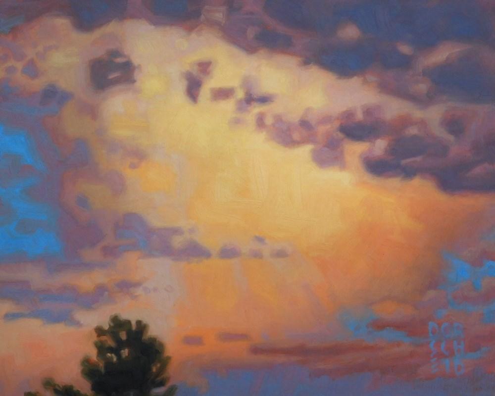 """Storms Break"" original fine art by Les Dorscheid"