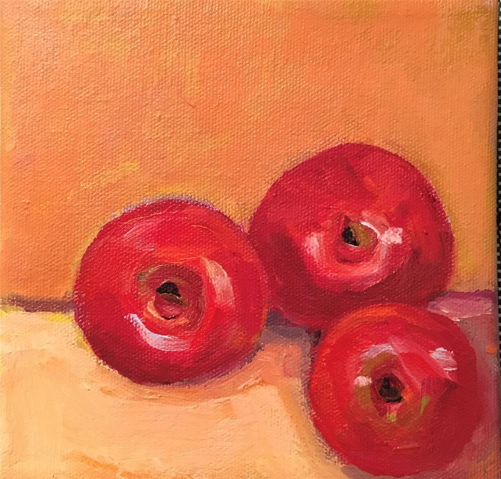 """Cornered"" original fine art by Marcia Bergtholdt"