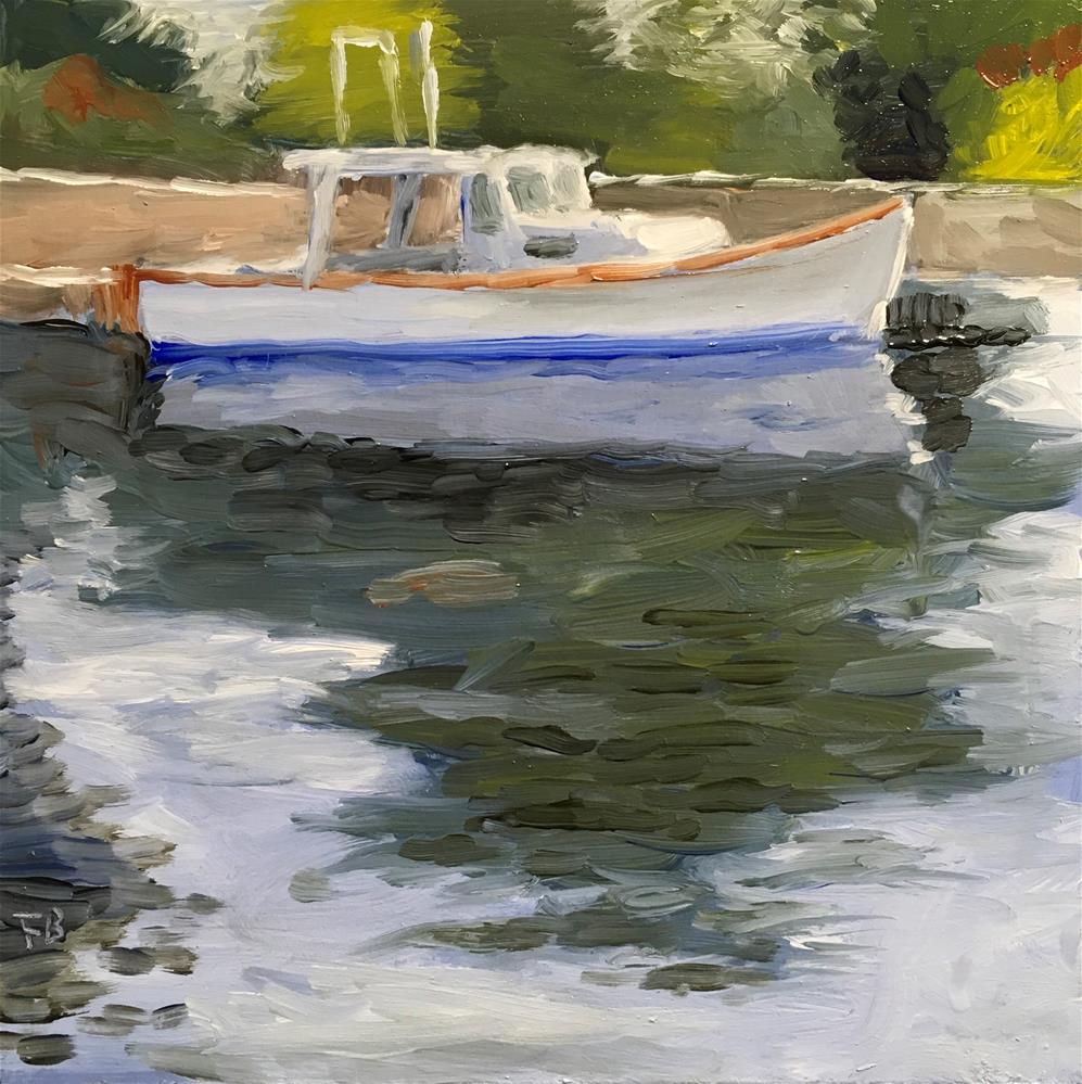 """119 Boat With No Name"" original fine art by Fred Bell"