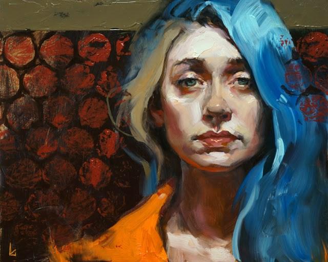 """Cells"" original fine art by John Larriva"