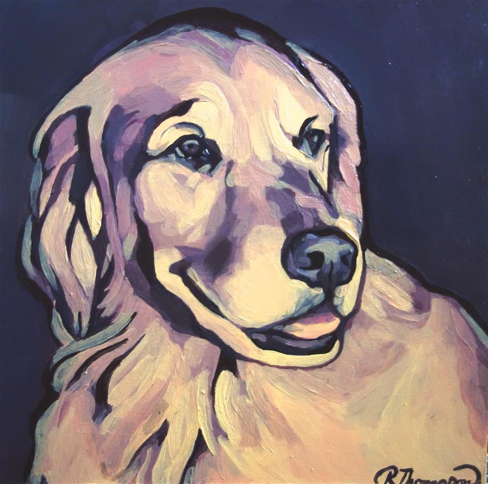 """Sunny"" original fine art by Rachel Thompson"