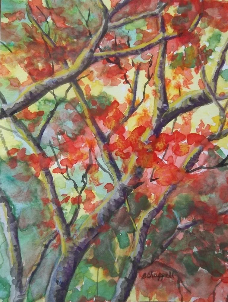 """Branching Out"" original fine art by Becky Chappell"
