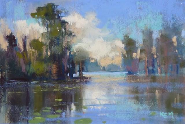 """How to Establish a Daily Painting Habit"" original fine art by Karen Margulis"