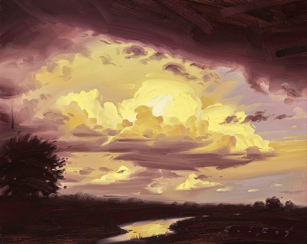 """Passing Brilliance"" original fine art by Rob  Rey"