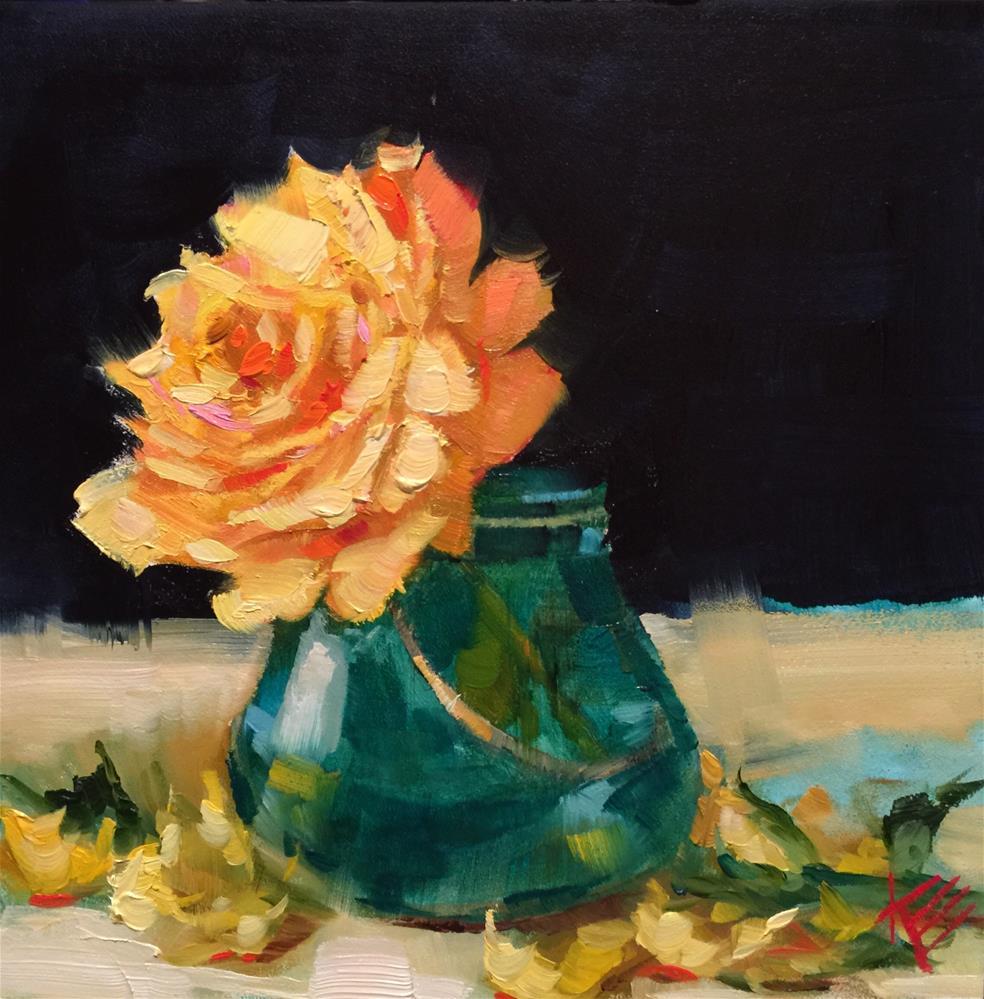 """A Gift"" original fine art by Krista Eaton"