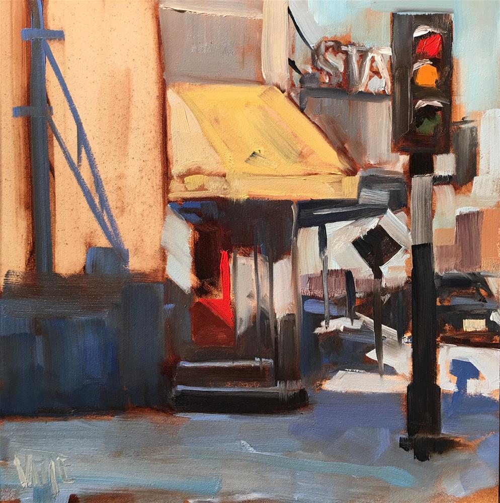 """#294 Somewhere in Wisconsin"" original fine art by Patty Voje"