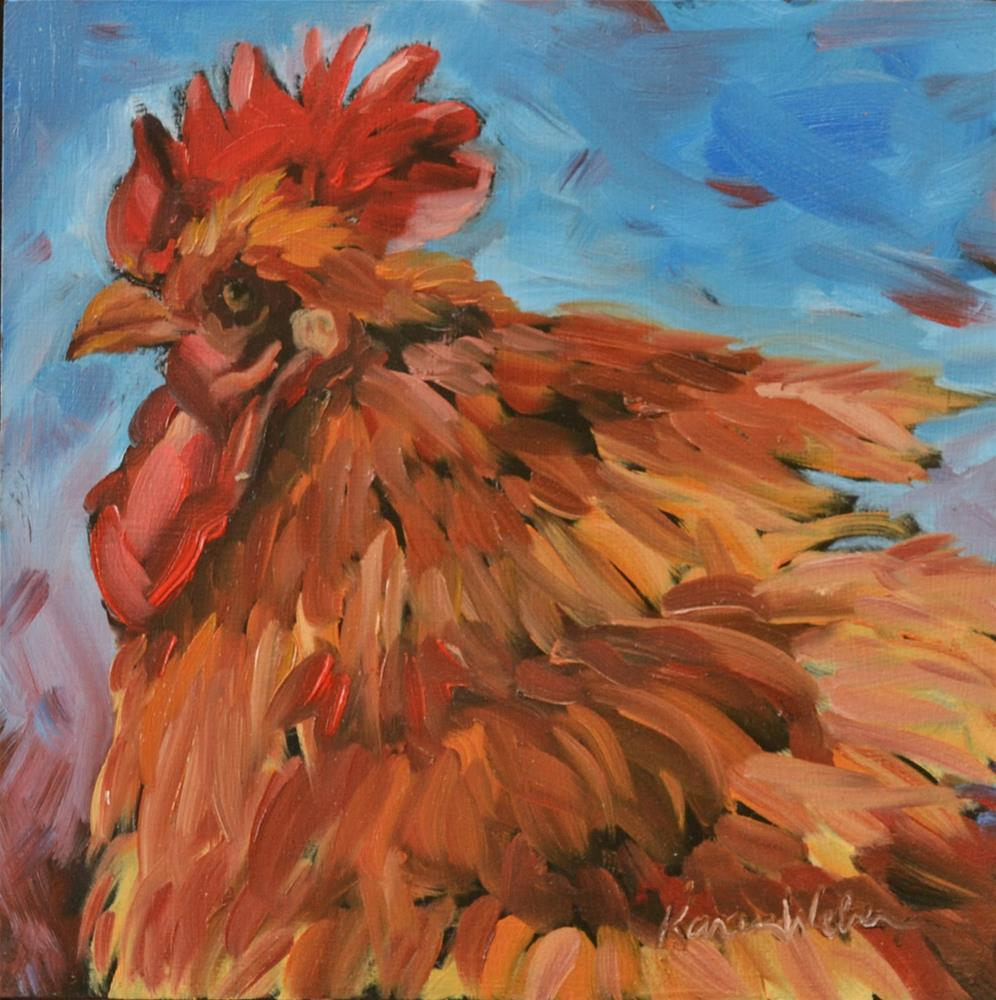 """Terrence"" original fine art by Karen Weber"