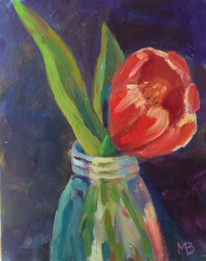 """Tulip Time"" original fine art by Marcia Bergtholdt"