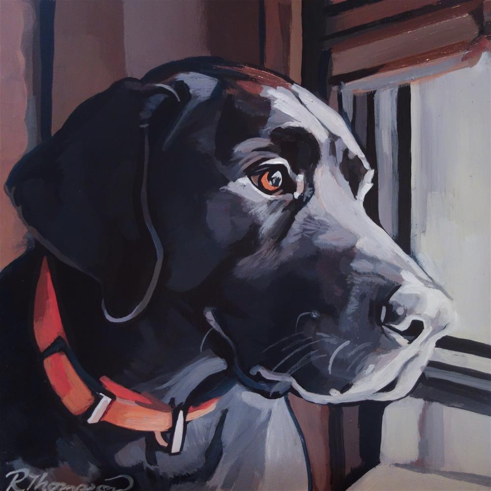 """Hank - Day 17"" original fine art by Rachel Thompson"