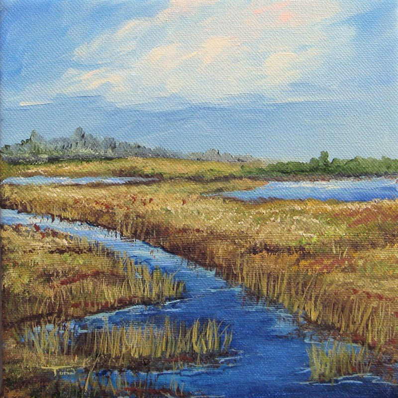 """Low Country View"" original fine art by Torrie Smiley"