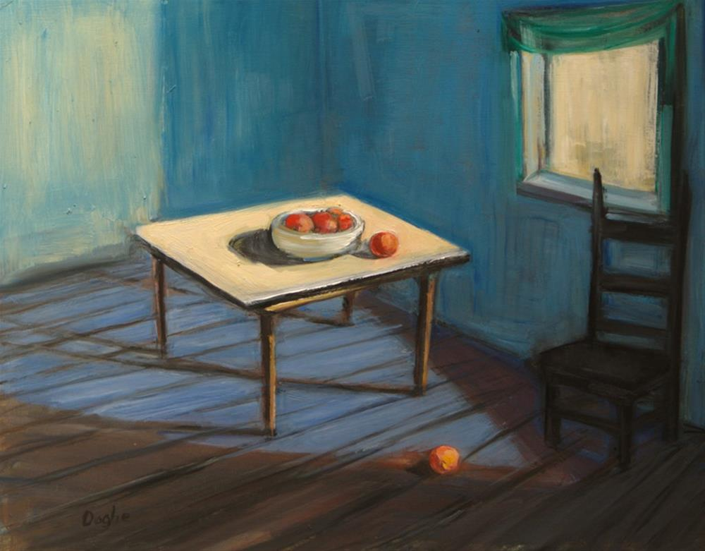 """Still Life Blue Room"" original fine art by Angela Ooghe"