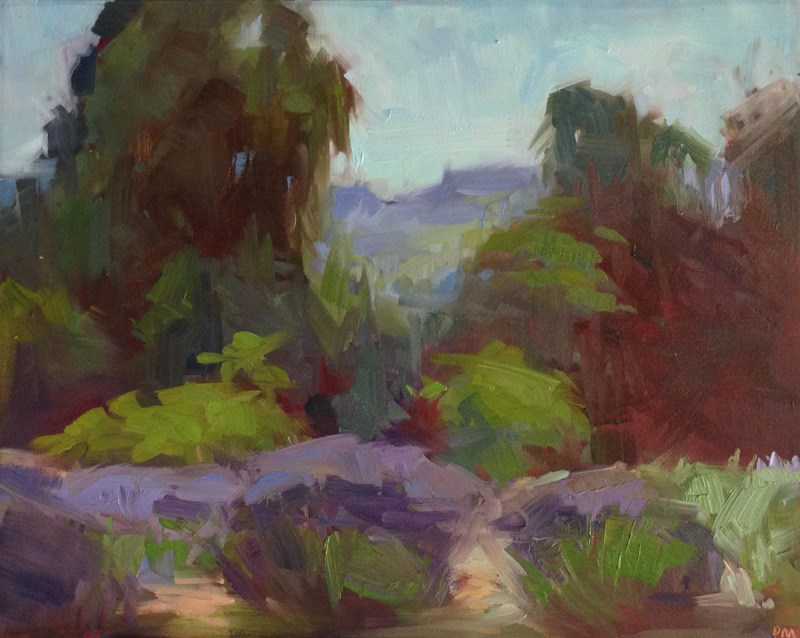 """Lavender Fields Forever"" original fine art by Patti McNutt"