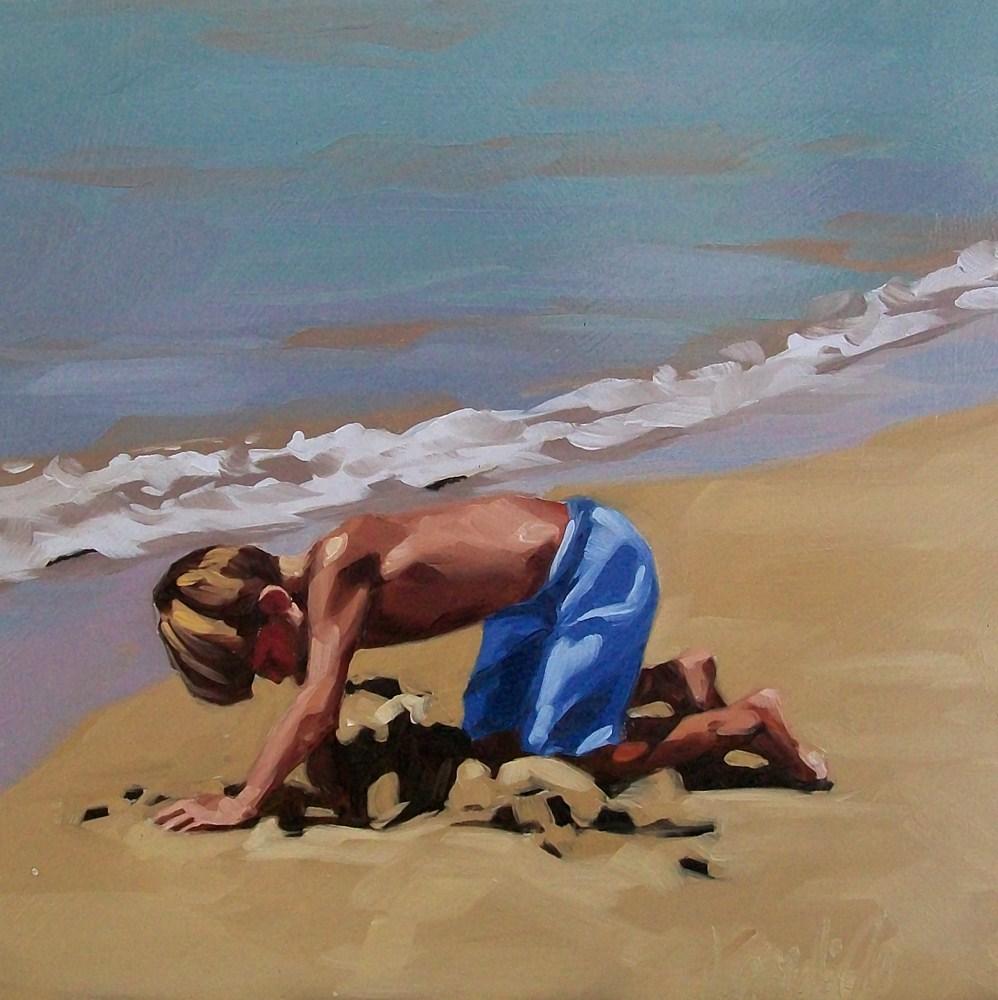 """Digging"" original fine art by Brandi Bowman"