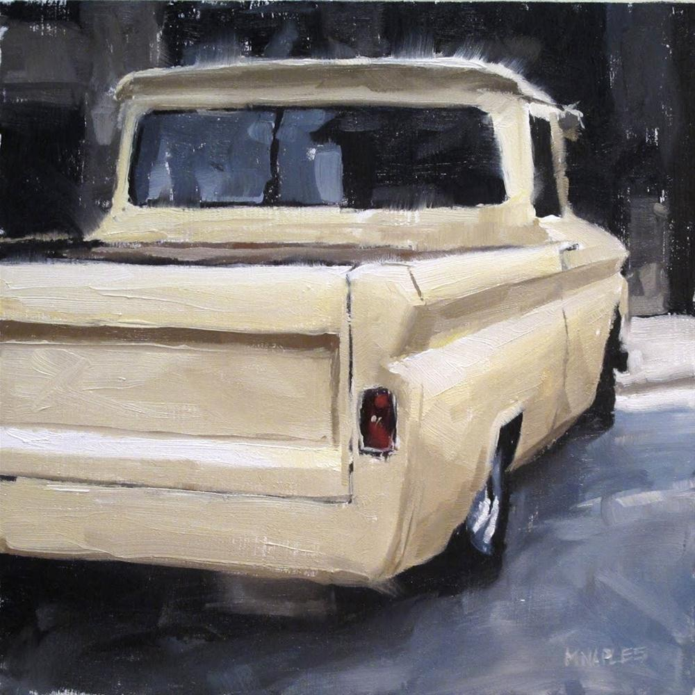 """Classic Pickup"" original fine art by Michael Naples"