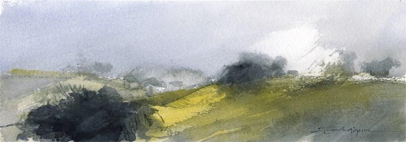 """Countryside 16"" original fine art by Emilio López"